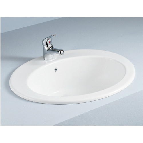 inset sinks bathroom inset vanity basin with overflow temple amp webster 13252