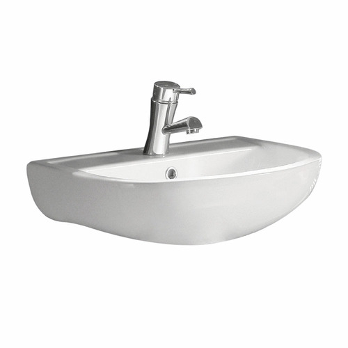 Admirable 45Cm Compact Wall Mounted Ceramic Basin Home Interior And Landscaping Sapresignezvosmurscom