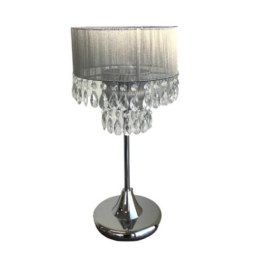 Bologna Metal Crystal Table Lamp, Chandelier Bedside Lamps Australia