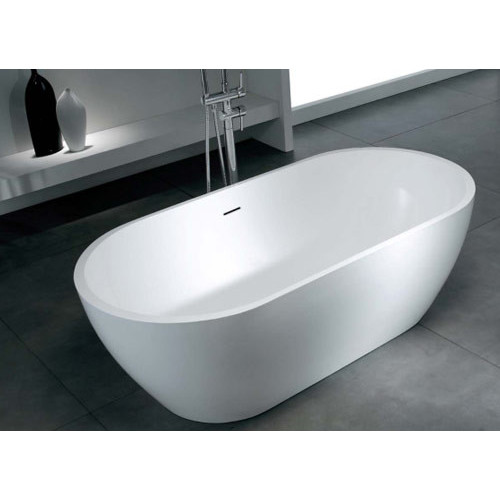 Marvelous Sterling Oval Free Standing Bath In Gloss