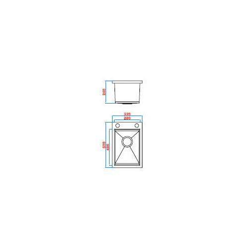 Sterling Super Mini Tub and Cabinet