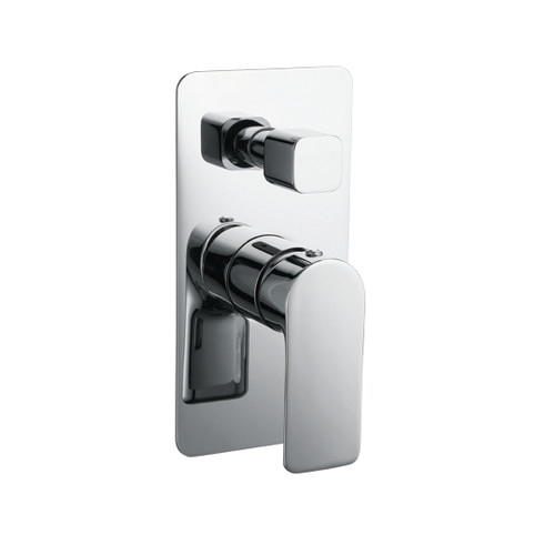 Inspire Shower/Bath Mixer with Diverter | Temple & Webster