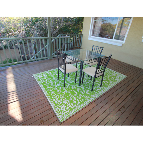 Home & Lifestyle Murano Lime Outdoor Rug