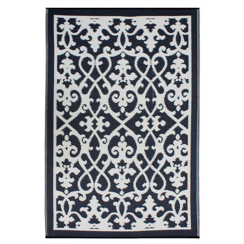 Home & Lifestyle Venice Black Outdoor Rug