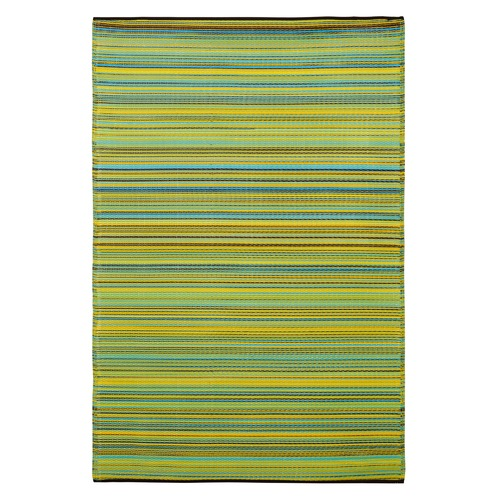 Home & Lifestyle Cancun Lemon and Apple Green Rug