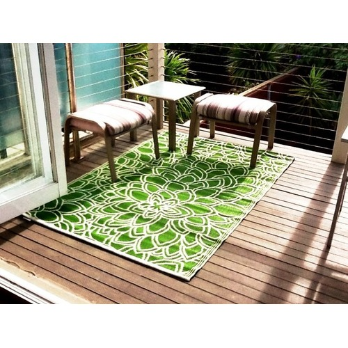 Home & Lifestyle Eden Outdoor Rug in Green