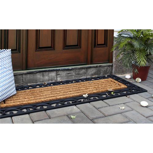 Home & Lifestyle Nautica Rubber Border Doormat