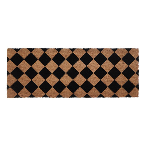 Home & Lifestyle Diamond PVC Backed Doormat