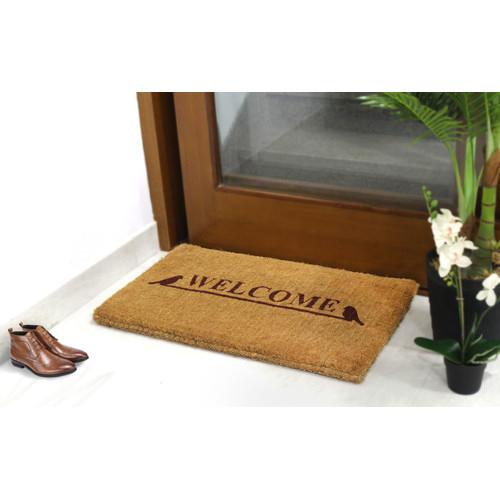 Home & Lifestyle Welcome Coir Doormat