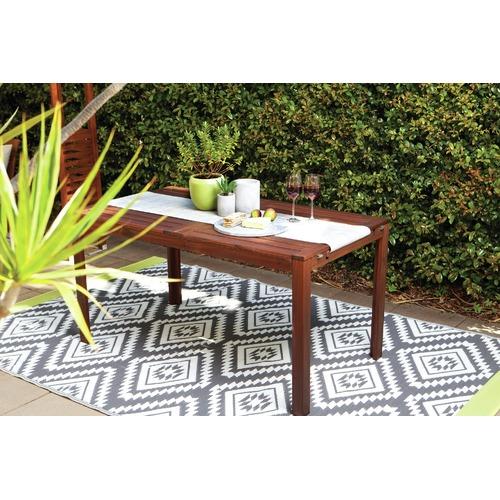 Home & Lifestyle Grey Valencia Outdoor Rug