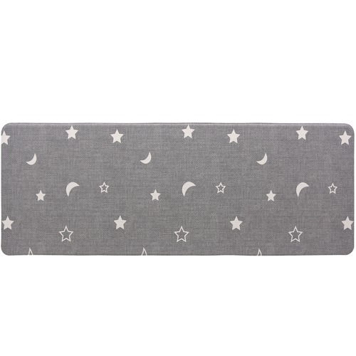 Home & Lifestyle Grey Herringbone Reversible House Mat