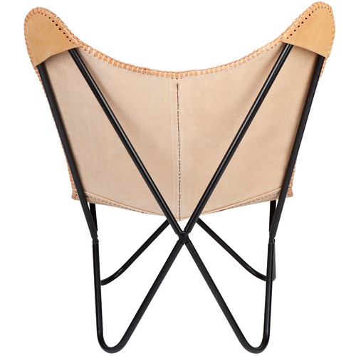 Home & Lifestyle Argus Leather Butterfly Chair