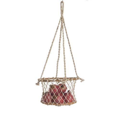 Home & Lifestyle Prairie Jute & Rattan Basket