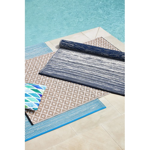 Home & Lifestyle Navy Blue Brooklyn Outdoor Rug