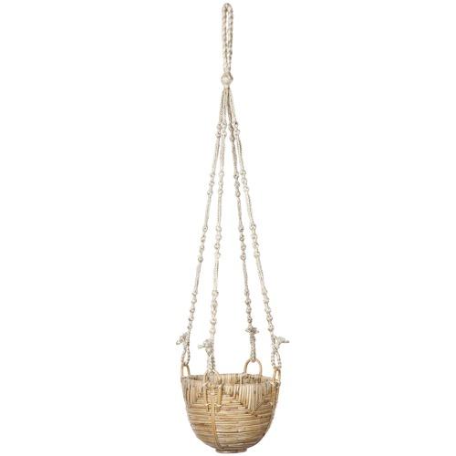 Home & Lifestyle 3 Piece Savar Cane Basket Set