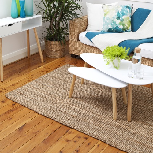 Home & Lifestyle Natural Estate Braided Jute Rug
