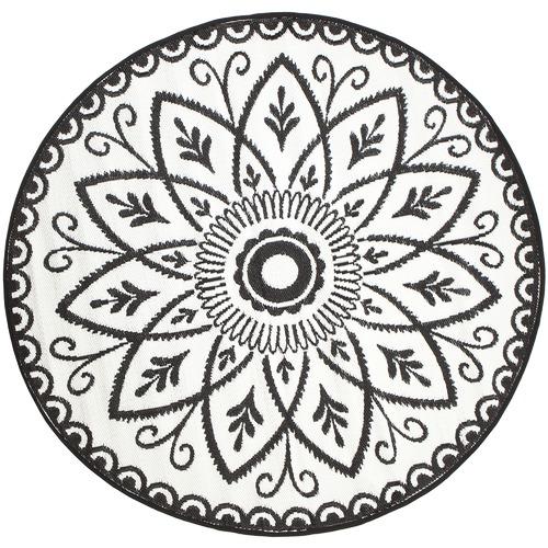 Home & Lifestyle Benaras Reversible Round Outdoor Rug