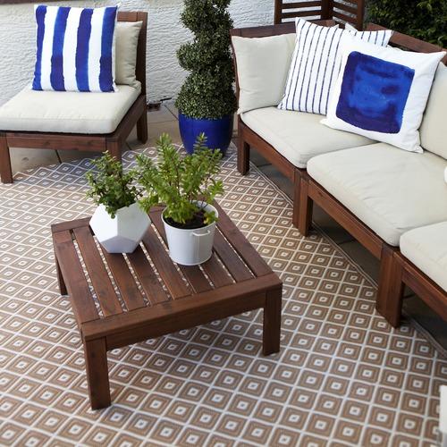 Home & Lifestyle Beige Kimberley Reversible Outdoor Rug