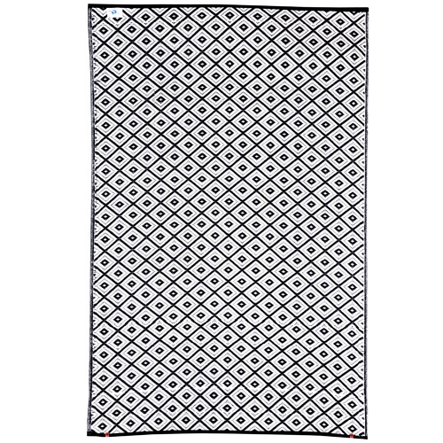 Home & Lifestyle Black Kimberley Reversible Outdoor Rug