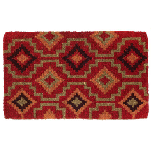 Home & Lifestyle Red Lhasa Coir Doormat