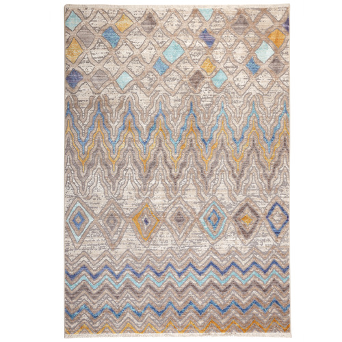 Home & Lifestyle Multi-Coloured Bruges Distressed Rug