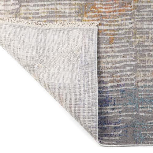 Multi-Coloured Crupet Distressed Rug