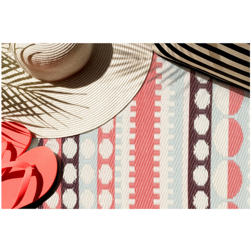 Ralphy Recycled Plastic Outdoor Rug