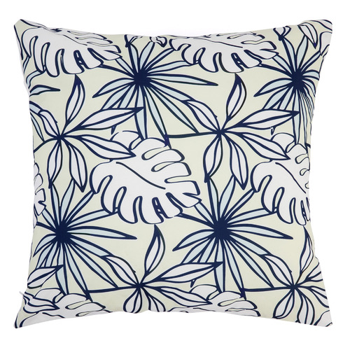 Blue & White Palma Outdoor Cushion
