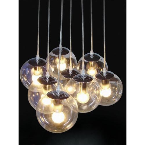 Innova Australia Clear Glass Shade Pendant Lamp