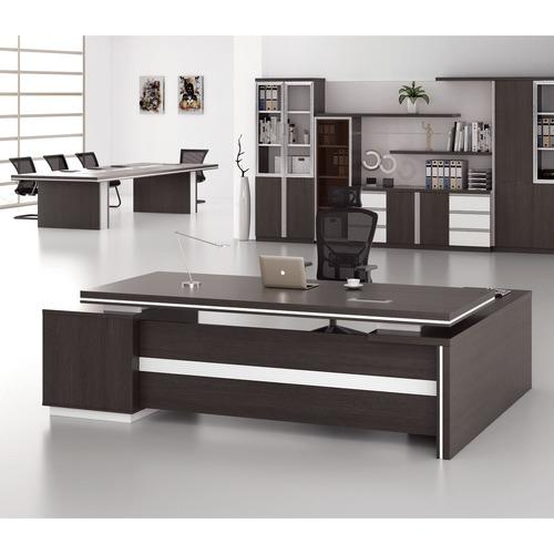 Innova Australia Black Oak Meli Executive Desk