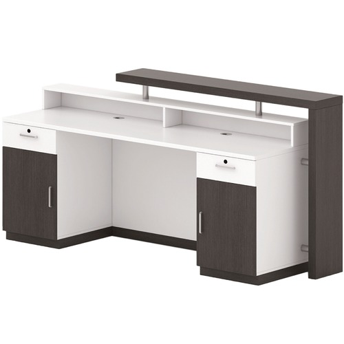 Innova Australia Black Oak Jax Reception Desk