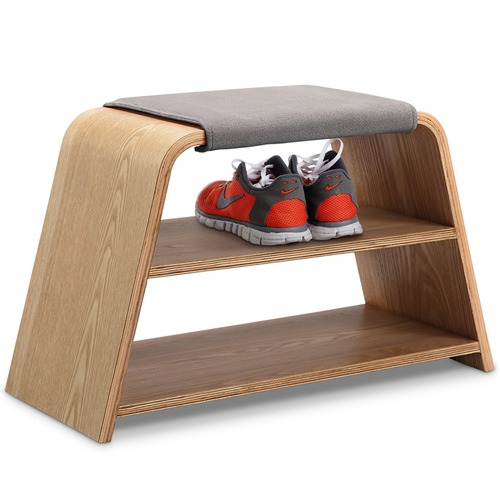 Innova Australia Ash Veneer Elvira Bench & Shoe Storage