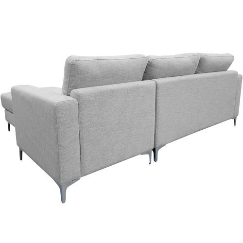 Innova Australia Alexis 3 Seater Corner Sofa with Ottoman
