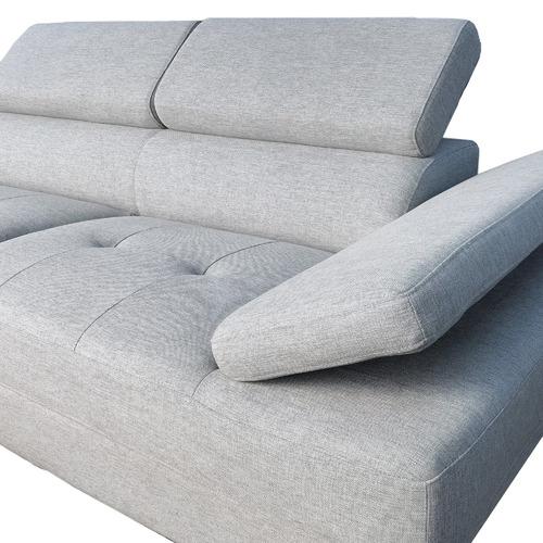 Innova Australia Grey Finlay 3 Seater Sofa