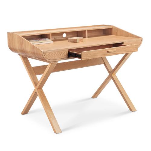 Innova Australia Natural Mazen Wooden Study Desk