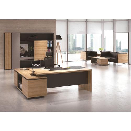 Innova Australia Dark Timber Dante Display Cabinet