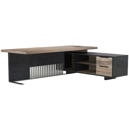 Innova Australia Dark Timber Daxton Executive Desk