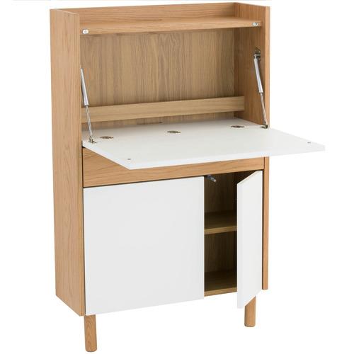 Innova Australia Natural & White Barton Study Desk