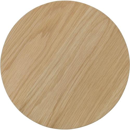 Innova Australia 3 Piece Oriel Oak Wood Side Table Set