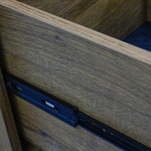 Dark timber Daxton Mobile Cabinet
