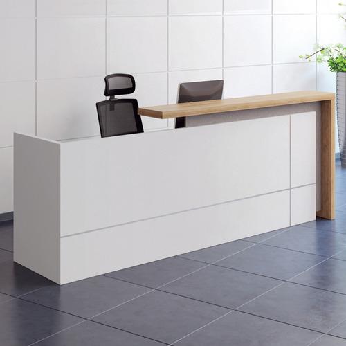 Ziva Reception Desk with Cabinet