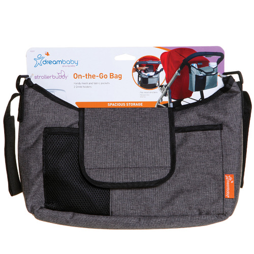 Dreambaby Grey Stroller Organiser Bag