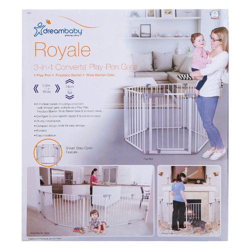 Dreambaby White Royale Converta Play Pen