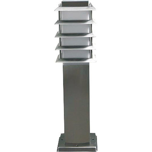 Lighting Avenue Medium Bollard Lamp in Stainless Steel