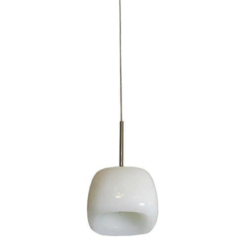 Lighting Avenue Frosted Glass Mitten Pendant Light