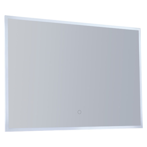 Lighting Avenue Rectangular Bathroom Wall Mirror with LED