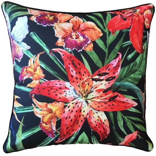 Tigerlily Tropical Outdoor Cushion