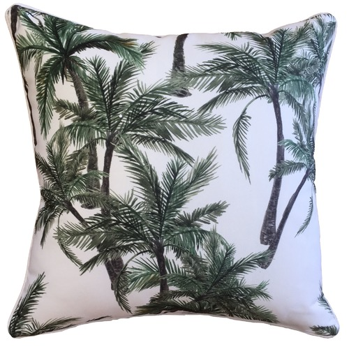 Vintage Palm Outdoor Cushion