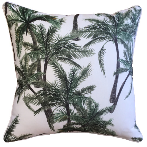 Glamour Paradise Vintage Palm Outdoor Cushion