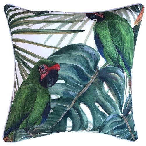 Bahamas Bird Outdoor Cushion